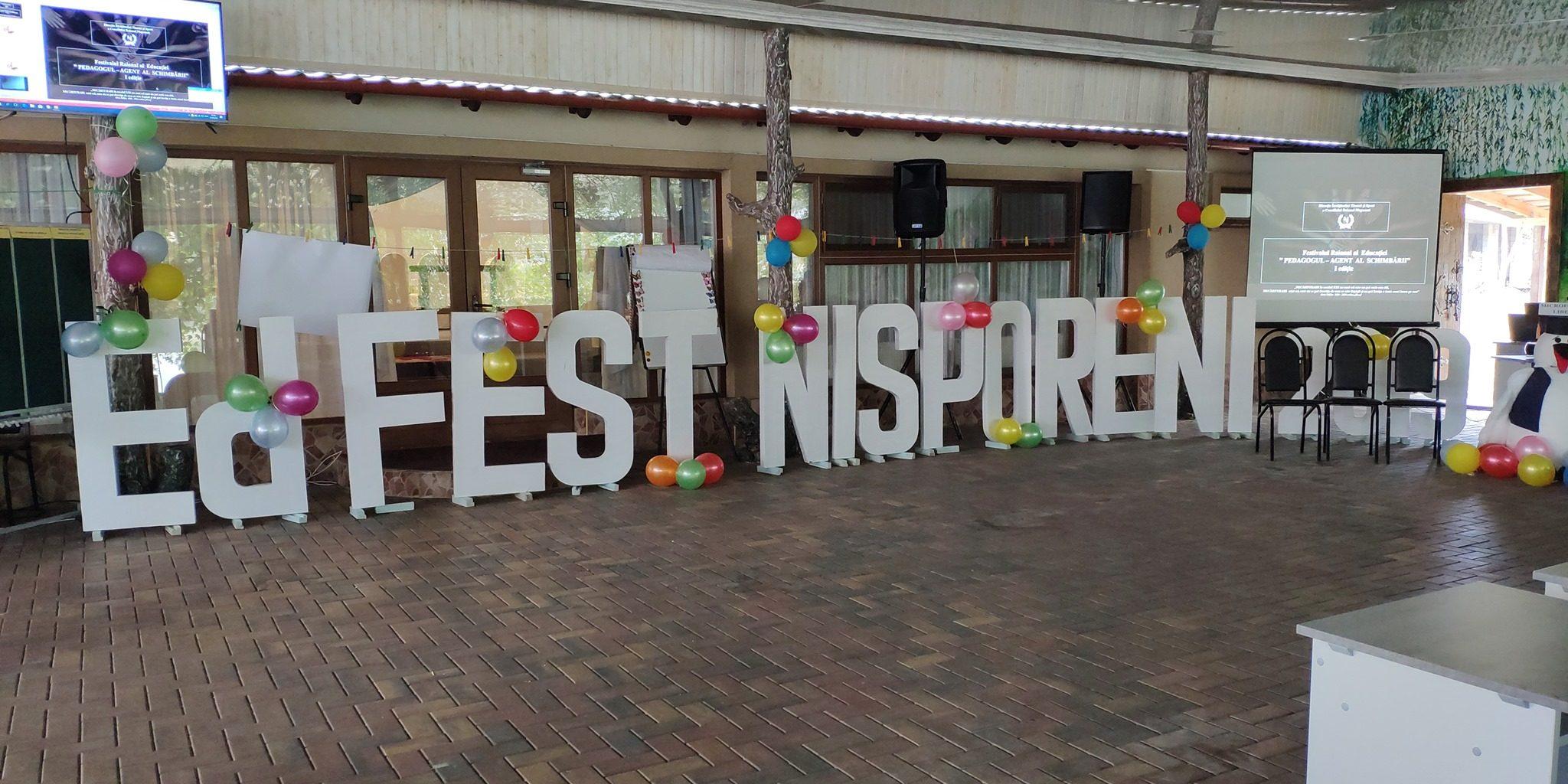 Prima ediție a festivalului educațional – EdFest Nisporeni 2019