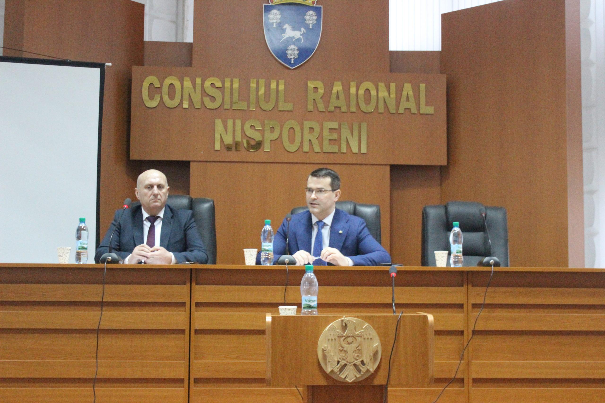 Vizita de lucru a dlui Anatol Usatîi, Ministrul Economiei și Infrastructurii.