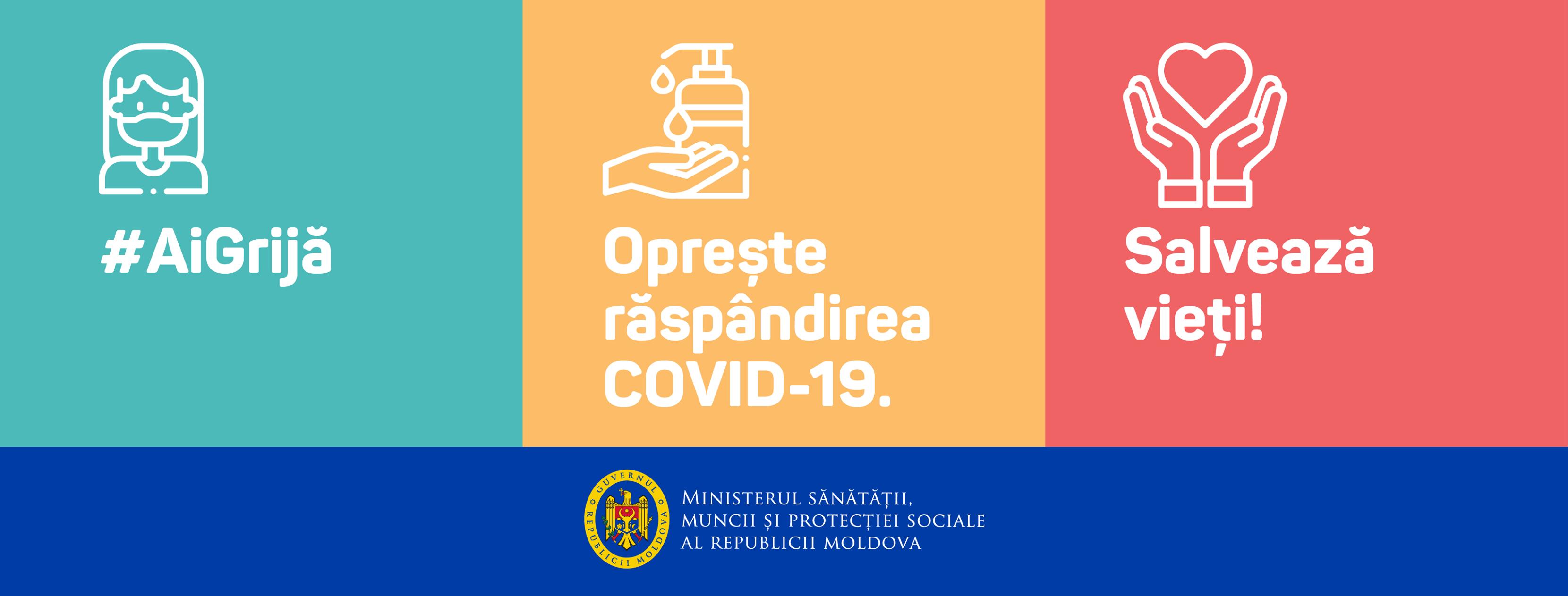 Oprește răspândirea COVID-19!!!