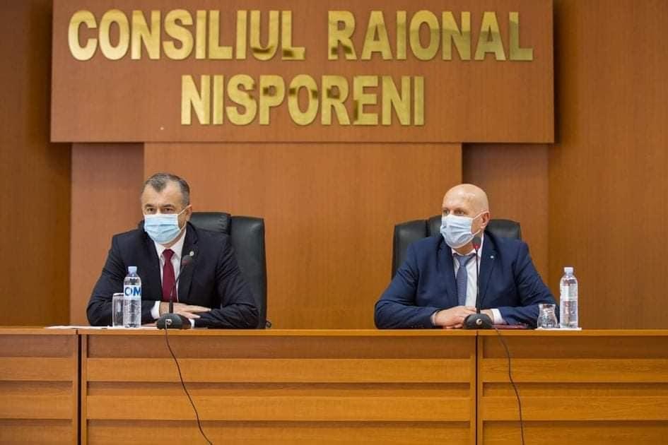 Vizita de lucru a Prim-ministrului Republicii Moldova, Ion CHICU în raionul Nisporeni.