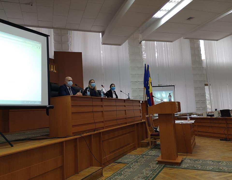 Ședința ordinară a Consiliului raional Nisporeni din 04 februarie 2021.