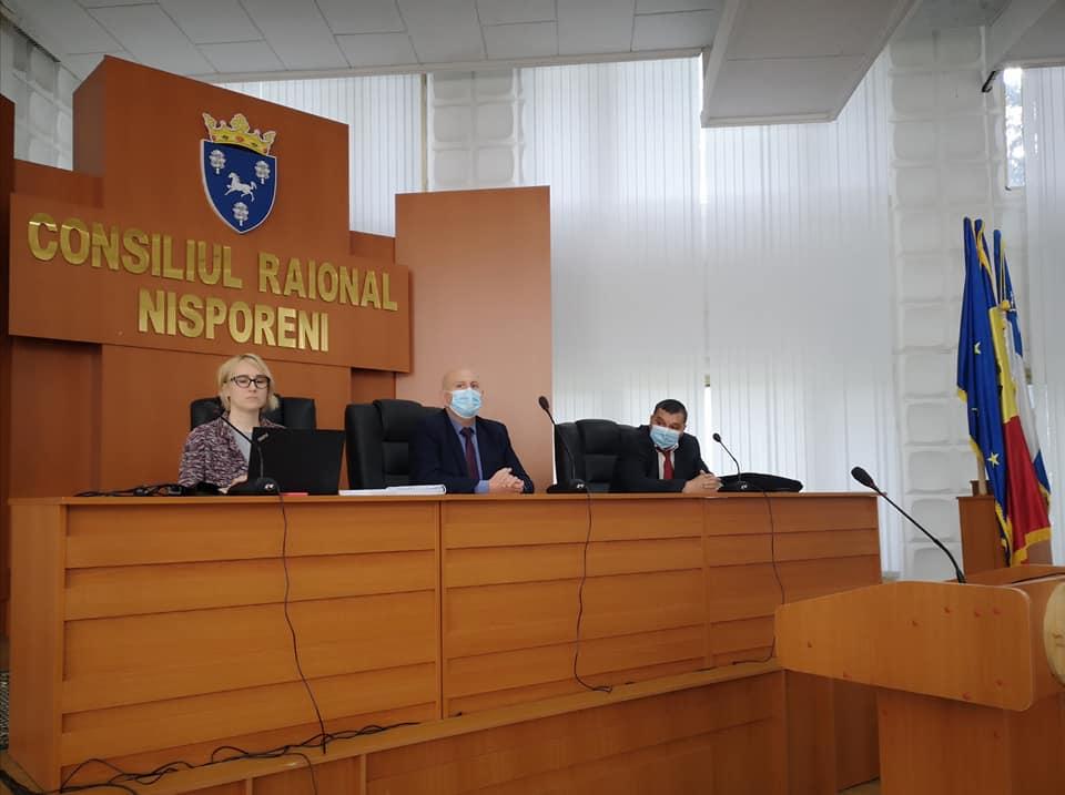"""Ședința de lucru cu S.A """"APAVITAL"""" Iași."""