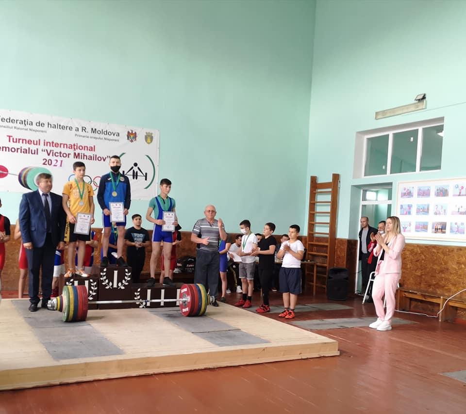 Turneul Internațional la Haltere, desfășurat în memoria antrenorului emerit, Victor Mihailov.