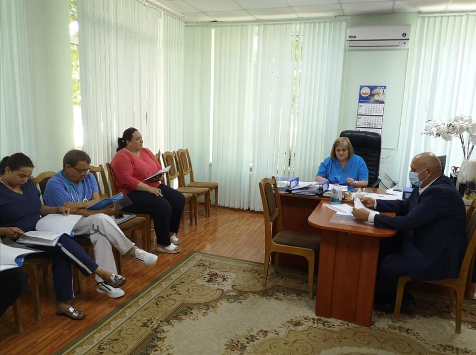 Ședința Consiliului de Administrare a Instituției Medico-Sanitare Publice Spitalul raional Nisporeni.