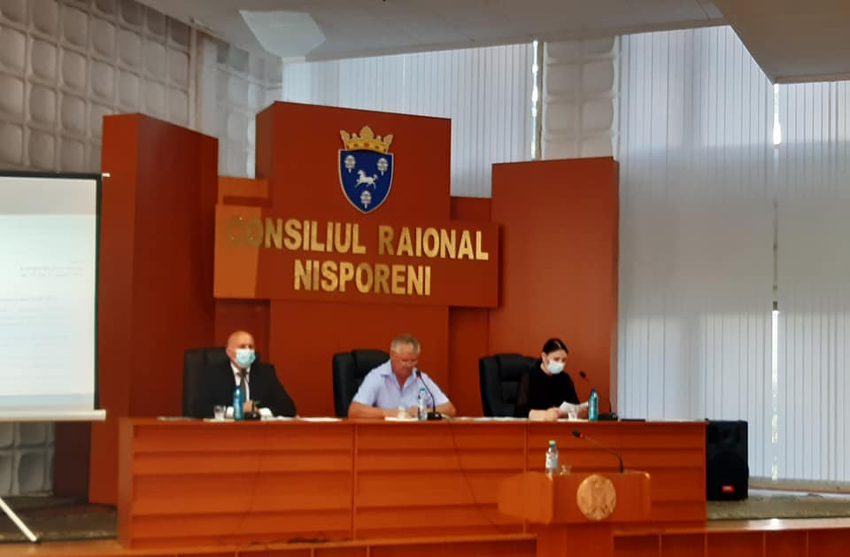 Ședința extraordinară a Consiliului raional din 19 august 2021.
