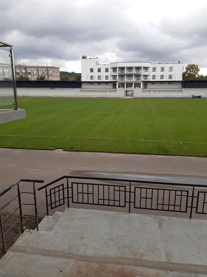 """Suntem spre finele încheierii primei etape a proiectului """"Modernizarea și reconstrucția Centrului de Tineret și Sport din or. Nisporeni""""."""