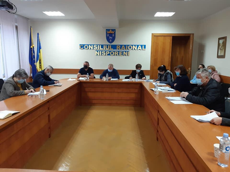 Ședința Comisiei de specialitate pentru probleme sociale.